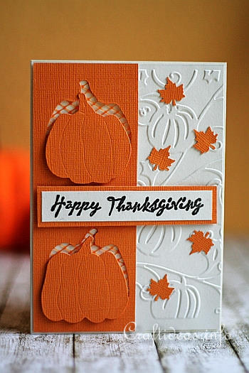 Happy Thanksgiving Card - Craftideas