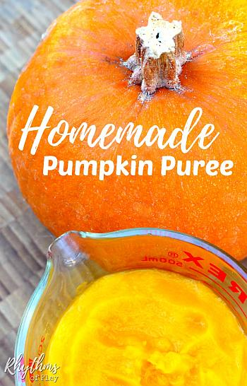 Homemade Pumpkin Puree - Rhythms of Play