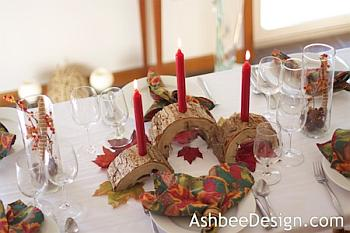 Log Slice Centerpiece - Ashbee Design