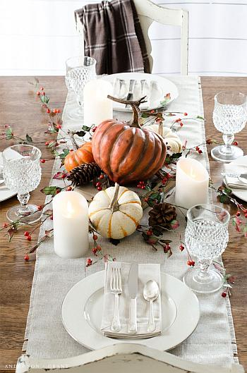 Setting a Simple Thanksgiving Table - Anderson and Grant