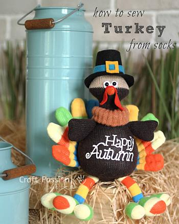Sock Turkey - Craft Passion