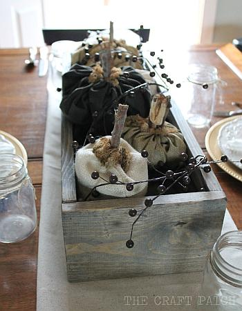 Textured Neutrals Fall Tablescape - The Craft Patch Blog